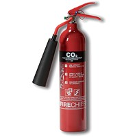 Firechief 2.0KG CO2 Fire Extinguisher for Class A B and E Fires