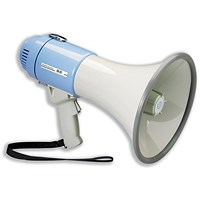 Power Megaphone Hand-held Battery Operated with Volume Control
