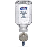 PURELL ES Everywhere System Hand Rub Refill Bactericidal Fragrance-free 450ml Ref N07723 [Pack 6]
