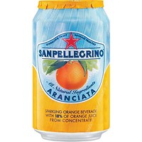 San Pellegrino Sparkling Orange - 24 x 330ml Cans