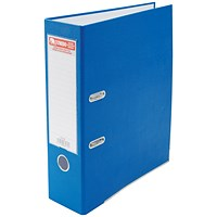 Jumbo A4 Lever Arch File, 85mm Capacity, Blue