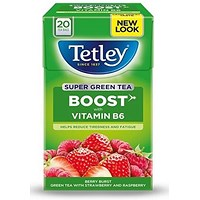Tetley Super Green Tea Berry Burst - Pack of 20