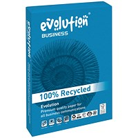 Evolution Business A3 Recycled Paper, White, 80gsm, Ream (500 Sheets)