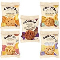 Border Mini Twin Pack Biscuits, 5 Varieties, Box of 100 Packs