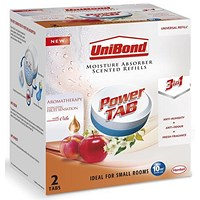 UniBond Pearl Moisture Absorber Refill Ultra-absorbent Aromatherapy Fruit - Pack of 2