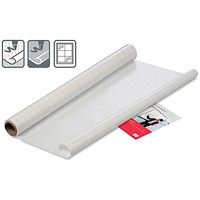 Nobo Instant Film Reusable Whiteboard, A1, Gridded, 25 Sheets
