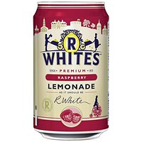R-Whites Raspberry Lemonade - 24 x 330ml Cans