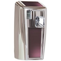 Rubbermaid Microburst 3000 LumeCel Air Freshener Dispenser - Chrome