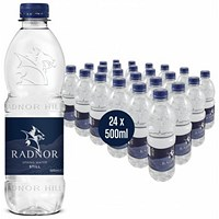 Radnor Still Spring Water - 24 x 500ml Plastic Bottles
