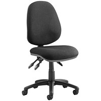 Trexus Luna 3 Lever Operator Chair - Black