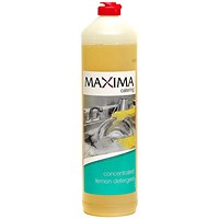 Maxima Washing Up Liquid, Lemon, 1 Litre