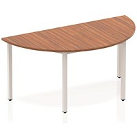 Trexus Semicircular Table, 1600mm, Walnut