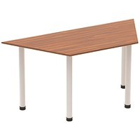 Sonix Trapezoidal Table, 1600mm, Walnut