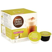 Nescafe Skinny Cappuccino Capsules for Dolce Gusto Machine - Pack of 48