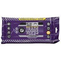 Dirteeze Rough & Smooth Wipes, Soft Pack, 220 x 200mm, 40 Wipes