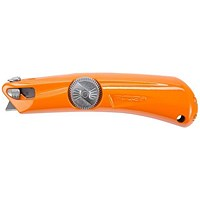 Pacific Handy Cutter Raze 3 Safety Knife, Heavy Duty, Orange