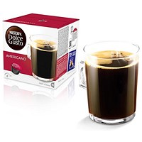 Nescafe Americano Capsules for Dolce Gusto Machine - Pack of 48