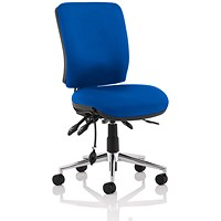 Sonix Medium Back Chiro Operator Chair - Blue