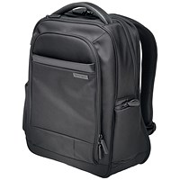 Kensington Contour 2.0 Laptop Backpack, 14 inch Capacity, Black