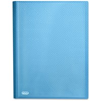 Elba Bright A4 Display Book, 20 Pockets, Blue, Pack of 10