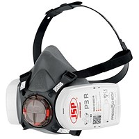 JSP Force8 Half Mask, Twin Cartridge, 4-point Harness, P3