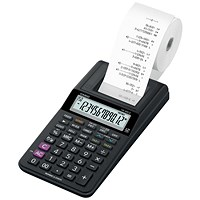 Casio Desktop Printing Calculator / 12 Digit / Black Ink Colour / Black