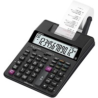 Casio Desktop Printing Calculator / 12 Digit / 2 Colour Printing / Black