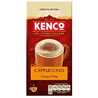 Kenco Cappuccino Instant Sachet - Pack of 8