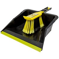 Bentley Bulldozer Dustpan & Brush Set