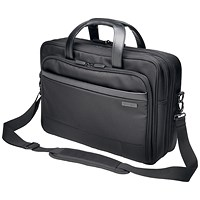 Kensington Contour 2.0 Laptop Carry Case, 15.6 inch Capacity, Black