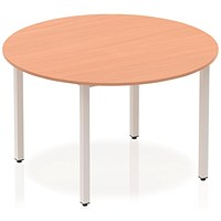 Trexus Circular Table / 1200mm / Beech