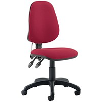 Trexus Lumb-air High Back Chair - Red