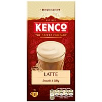 Kenco Caffe Latte Instant Sachet - Pack of 8