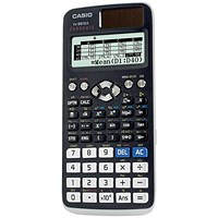 Casio Scientific Calculator Natural Display, 552 Functions, Graphite