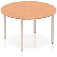 Trexus Circular Table, 1200mm, Oak
