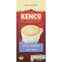 Kenco Flat White Instant Sachet - Pack of 8