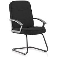 Trexus Harley Cantilever Chair - Black