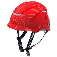 Centurion Nexus Linesman Safety Helmet - Red