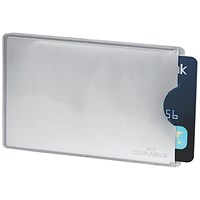 Durable Card Sleeve for Payment & ID Cards RFID Secure 13.56 MHz, Pack of 10