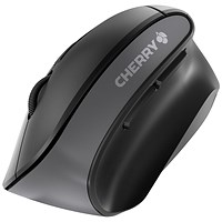 Cherry MW 4500 Six-Button Wireless Mouse, Ergonomic, 10m Range, Black