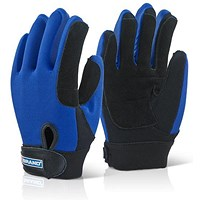 B-Brand Power Tool Glove, Medium, Blue