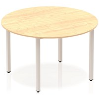 Trexus Circular Table, 1200mm, Maple