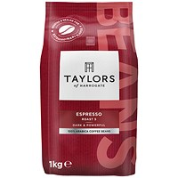 Taylors Espresso Coffee Beans - 1kg