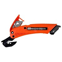 Pacific Handy Cutter S5 Safety Cutter for Left Handed Users - Red