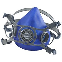 B-Brand Twin Filter Mask, Adjustable Strap, Large, Blue