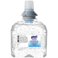 Purell Hygienic TFX Hand Gel, 1200ml, Pack of 2