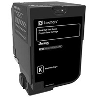 Lexmark CS720/CS725 High Yield Black Laser Toner Cartridge