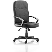 Trexus Harley Executive Chair, Black