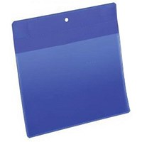 Durable Neodym Magnetic Document Sleeves, A5, Portrait, Blue, Pack of 10
