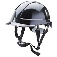 B-Brand Reduced Peak Helmet - Black